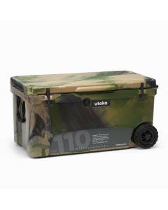 Utoka Tow 110 Hard Travel Cooler - 104 Litre - Camo