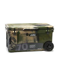 Utoka Tow 70 Hard Travel Cooler - 66 Litre