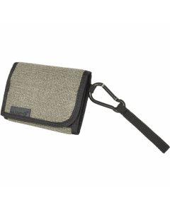 Hazard 4 Mil-Wafer Carabiner Slim Tri-Fold Wallet - Kevlar