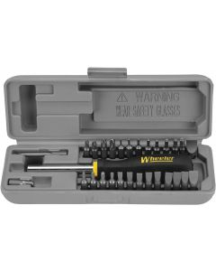 Wheeler Space Saver Screwdriver Set