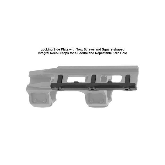 UTG ACCU-SYNC 1 inch Medium Profile 34mm Offset Picatinny Rings
