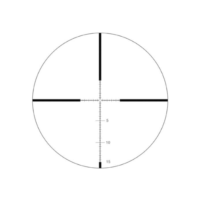 IOR Vulcan 6-24x56 FFP MIL MIL IR Rifle Scope