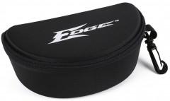 Edge Black Hard Sunglasses Case with Logo
