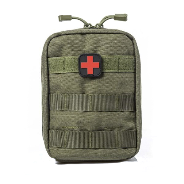 Territory Supply Tactical Molle Medical Pouch - OD Green