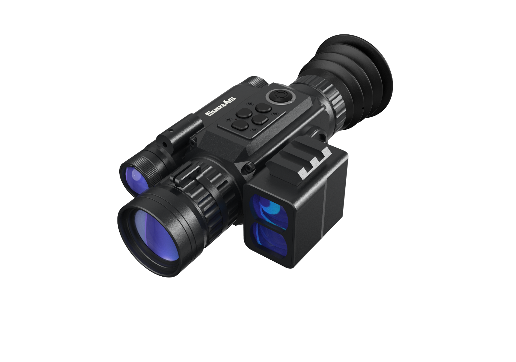 Sytong HT60LRF 3-8x Digital Night Vision Rifle Scope with Laser Rangefinder
