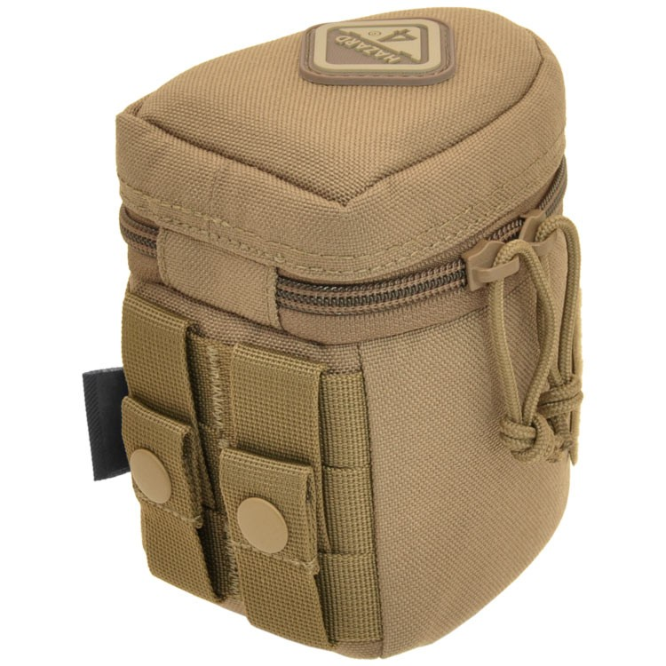 Hazard 4 Jelly Roll Small Padded Molle Lens Case - Coyote