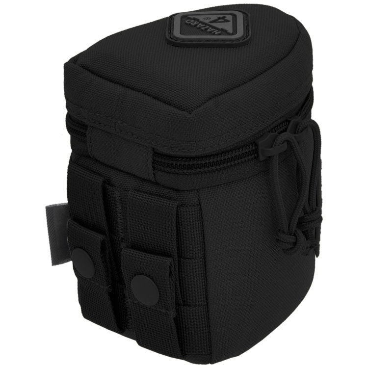 Hazard 4 Jelly Roll Small Padded Molle Lens Case - Black