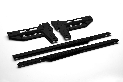 MDT Oryx Side Panels to Suit MDT Oryx Stocks - Black - Optics Warehouse