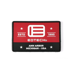 EOTech Estd 1995 Logo Velcro Patch - Black/White/Red