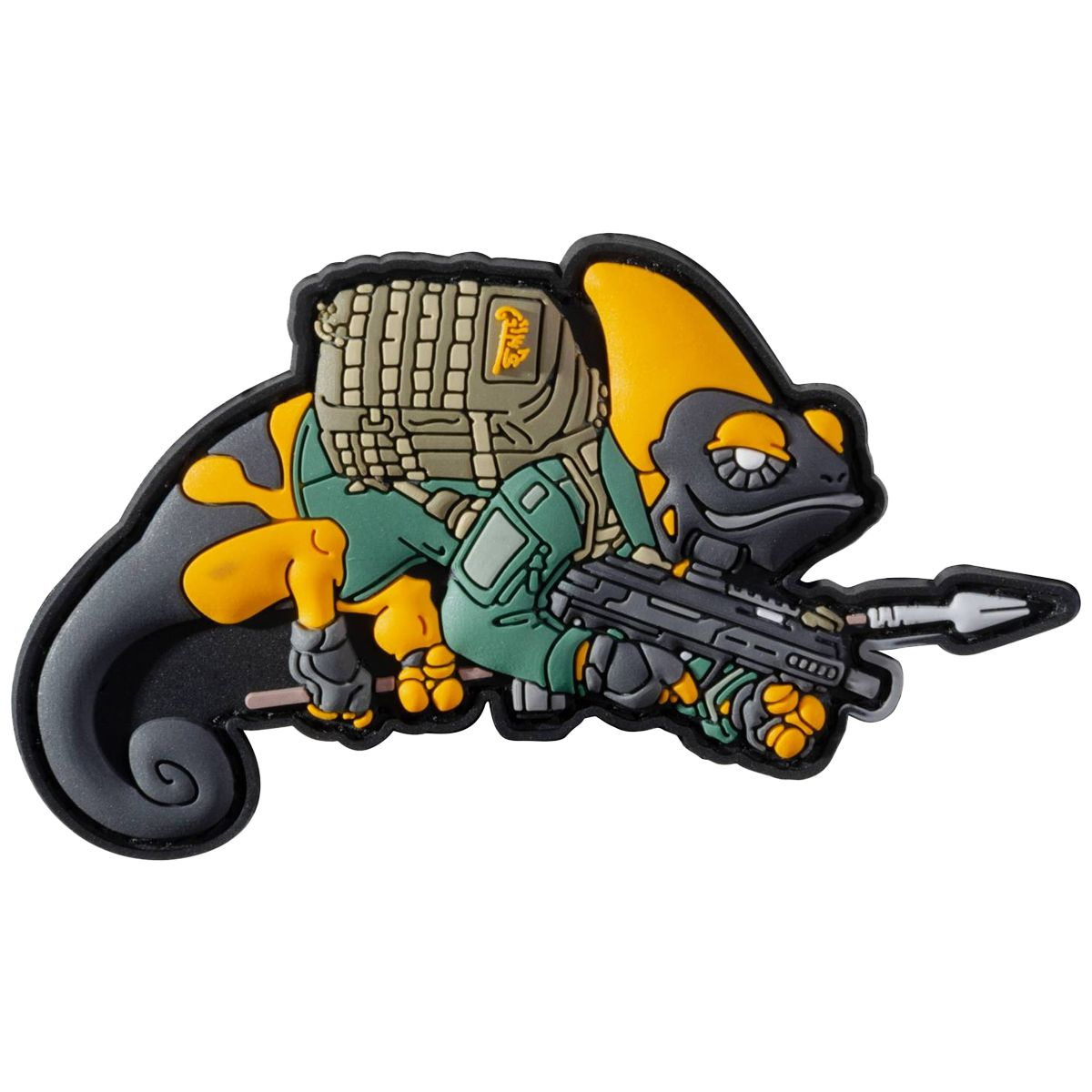 Helikon Chameleon Patrol Line Exclusive Patch - Yellow / Green
