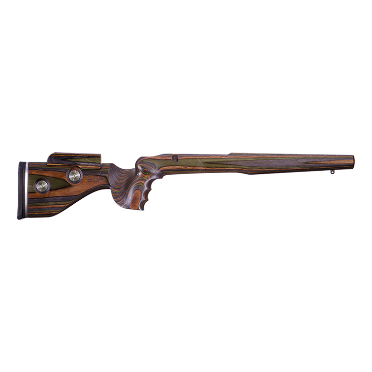 GRS Adjustable Stock, Hunter to suit Howa 1500 Right Hand Short Action - Green Mountain Camo