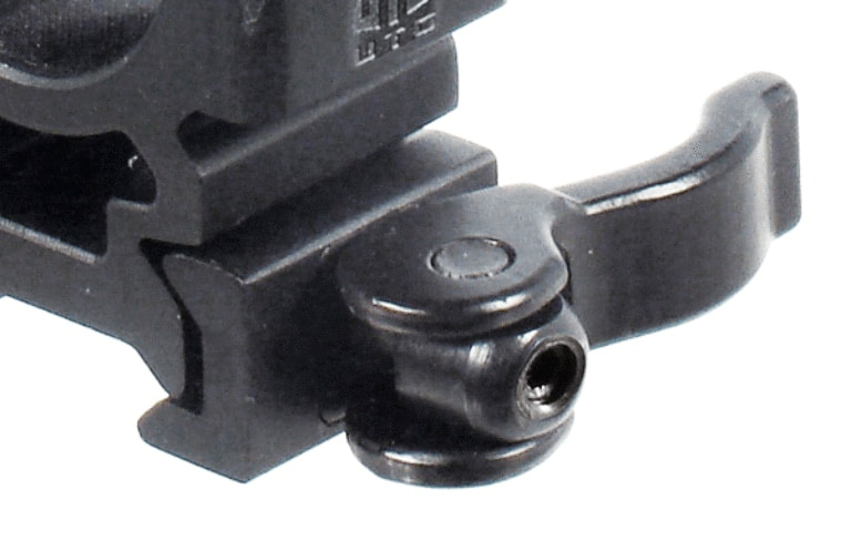 """UTG 1"""" LE Grade Quick Release 2 Piece Picatinny Rings"""