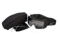 Edge Eyewear Blizzard Ballistic Goggle Kit with Clear and G-15 Vapor Shield Lenses
