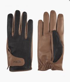Holik Kimberly Fingers Gloves - Brown