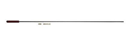 """Pro-Shot Cleaning Rod 38 1/2"""" Rifle .17 Cal. w/ Jag"""