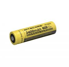 Nitecore 3400mAh 18650 Pip Top Rechargeable Battery