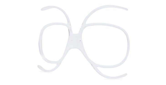 Blueye Eyewear Velocity RX Adaptor: MG-10 Goggle Prescription Lens Adaptor