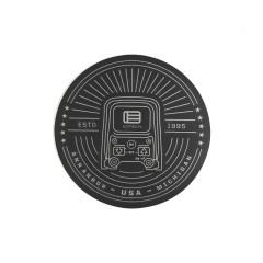 EOTech Estd 1995 Circle Sticker - Grey