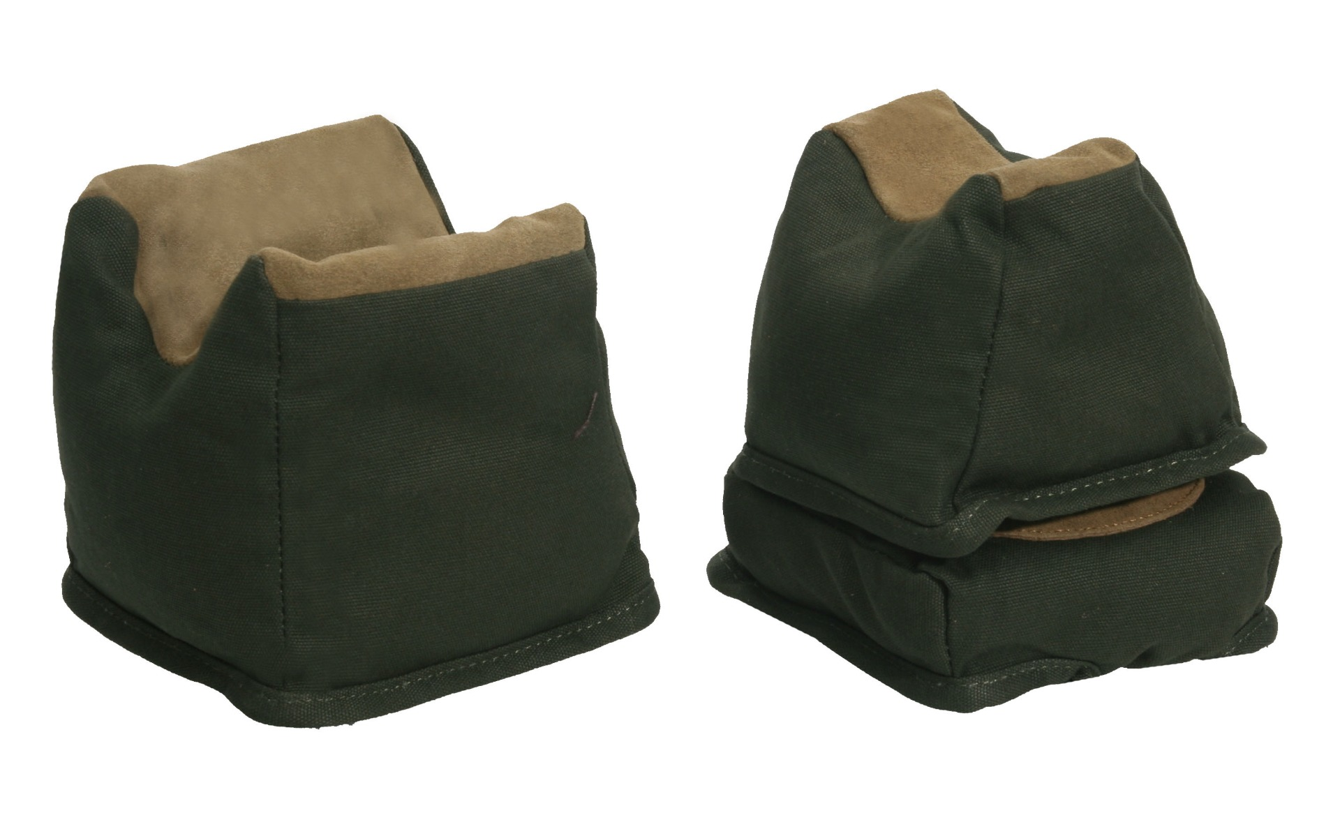 The Outdoor Connection Green 3 Piece Bench Rest Bag Trio