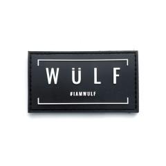 WULF Velcro Patch - Midnight Black