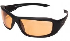 Edge Eyewear - Hamel Thin Temple Tigers Eye Vapor Shooting Glasses - Matte Black