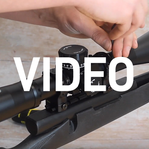 HOW TO: Mount a Rifle Scope – using Two Piece Rings