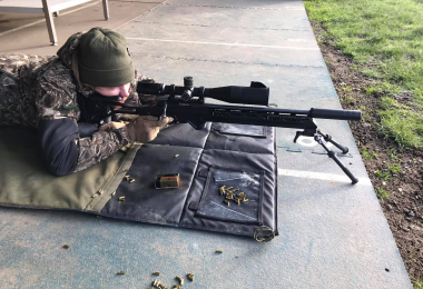 Test Day: Delta Javelin Scope + the MBE CCS (Competition Chassis System)