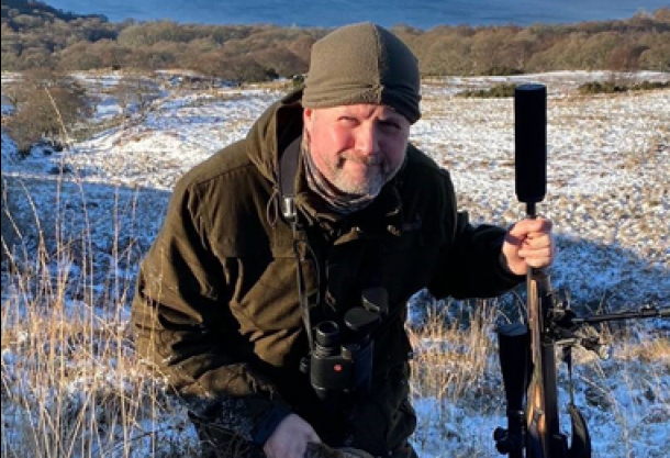 Stalking in the Scottish Highlands and a change of Rifle Scope.