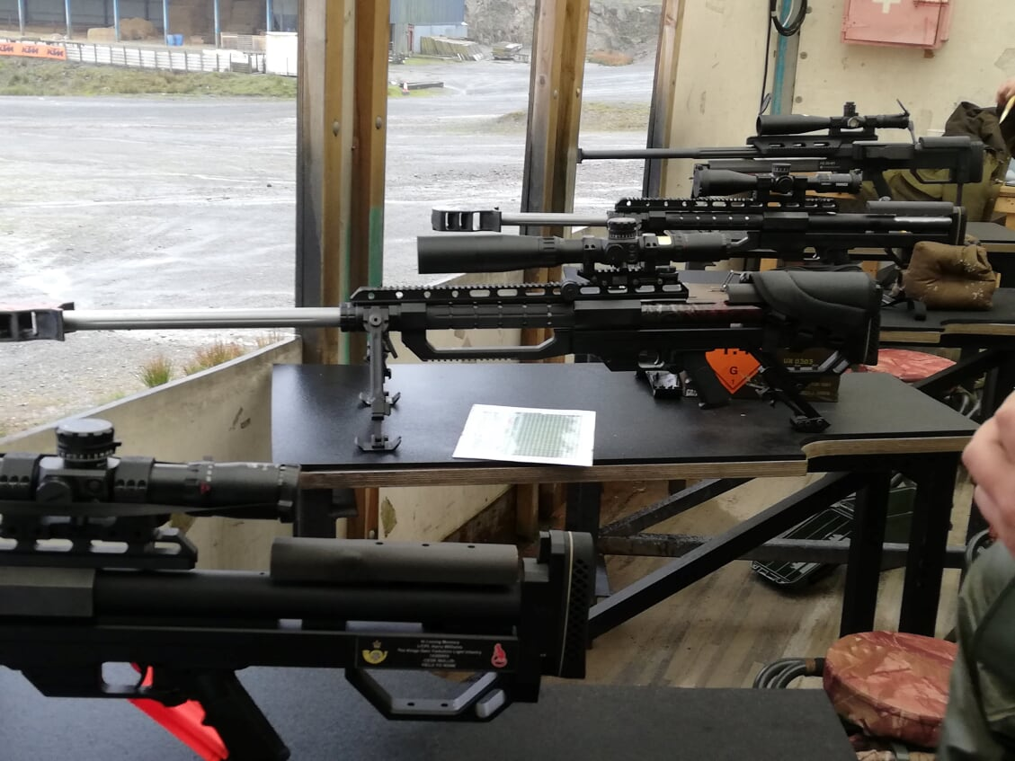 GB .50CAL Team Training Session