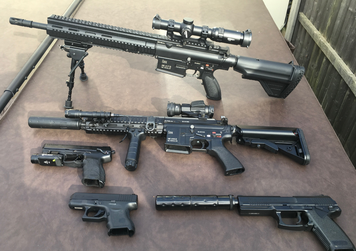 Airsoft Firearms