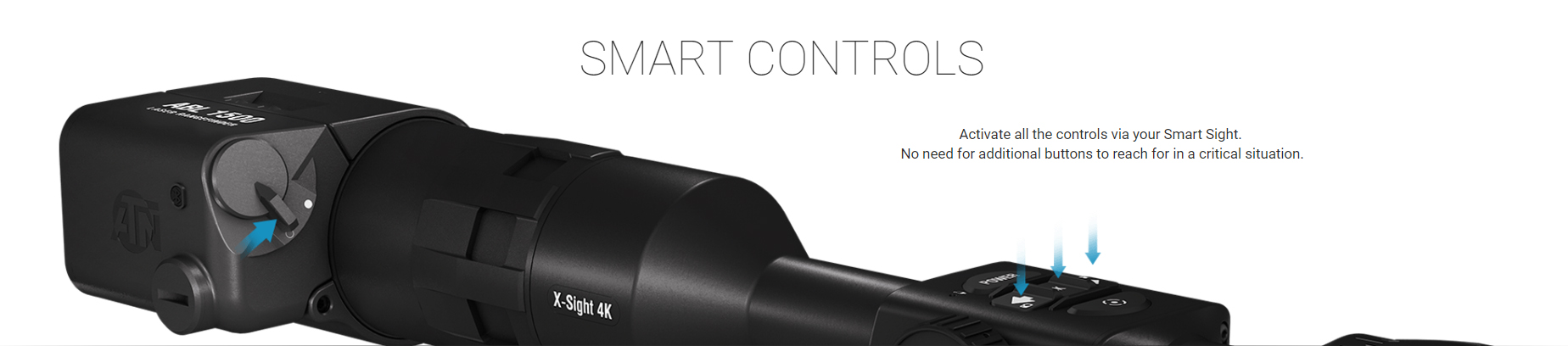 ATN AUXILIARY BALLISTIC LASER 1500 Laser Rangefinder